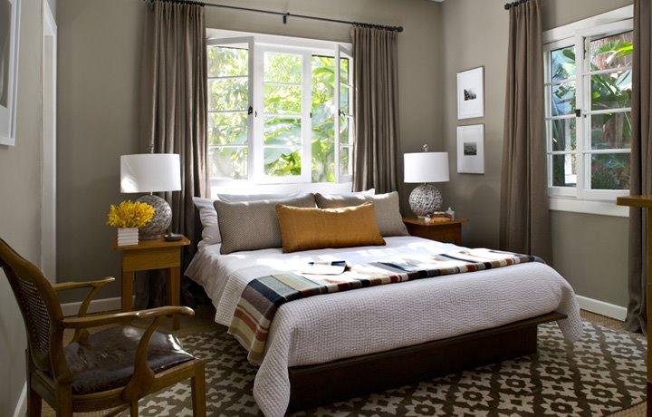 Окна дизайн фото спальни