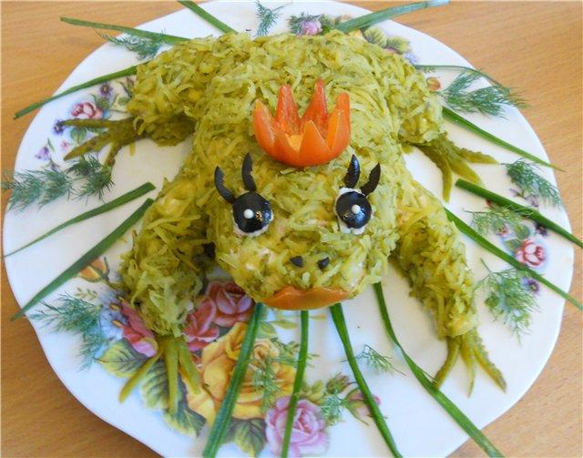 Простой салат на день рождения ребенка