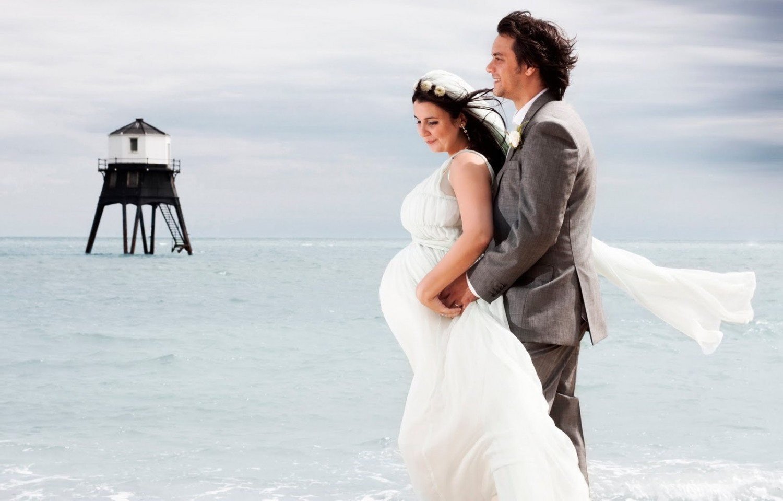 Фото свадьбы беременной