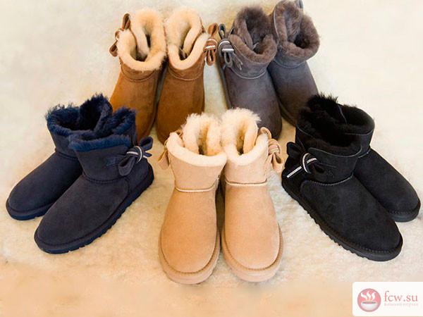 Модные угги наступившей зимы 2018-2019