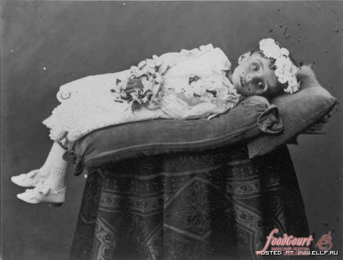 Странная традиция конца хiх века фото