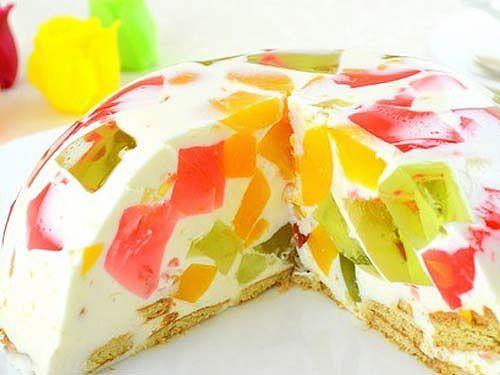 желейные тортики фото