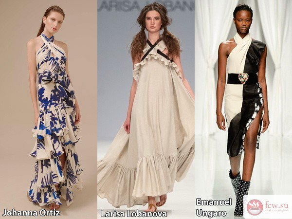 Модные сарафаны на лето 2017