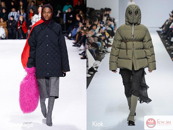 модная верхняя одежда сезона осень зима 20182019 блог мода и
