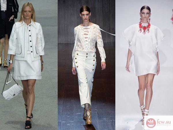 1e5d7645c480845 Белый цвет в модных коллекциях весна-лето 2015 - Блог Мода и красота ...