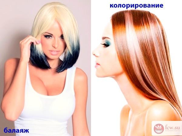 как покрасить в два цвета волосы фото