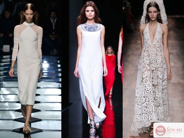 d891af8aa55c960 В новых коллекциях огромное количество платьев, от повседневных до деловых,  от вечерних до роскошных.