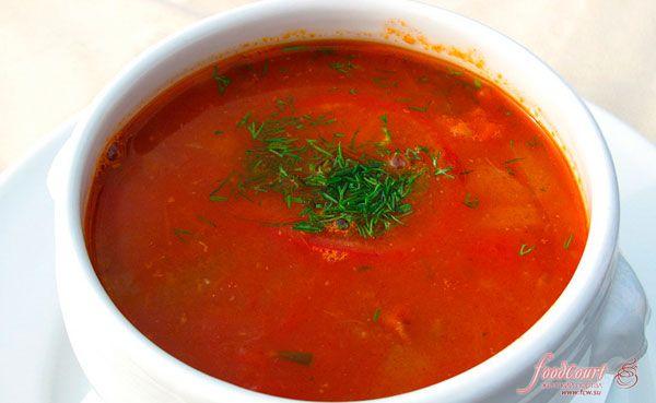 китайский томатный суп с говядиной рецепт