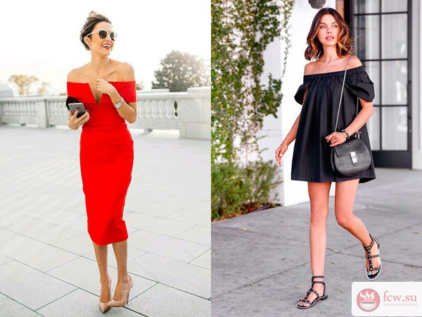 558c03b16ae4357 Откройте плечи! Пикантный тренд лета 2016 - Блог Мода и красота ...
