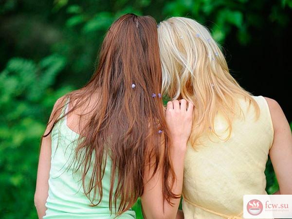 Подруга учит друга