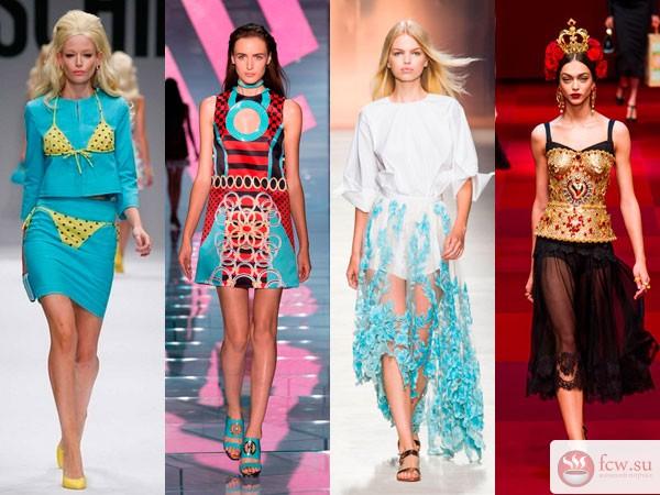 fbfe0c097687a19 Модные подиумы Милана, Парижа, Лондона и Нью-Йорка продемонстрировали  весенне-летние тенденции в мире моды. Главный девиз жаркого сезона –  женственность.